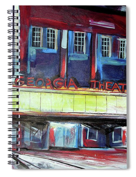 Georgia Theatre Spiral Notebook