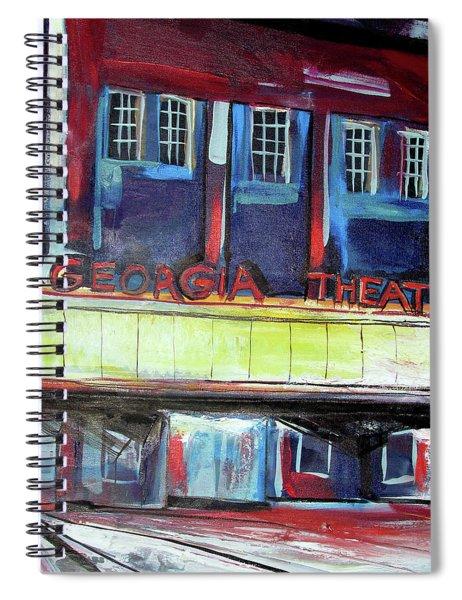 Georgia Theatre Spiral Notebook