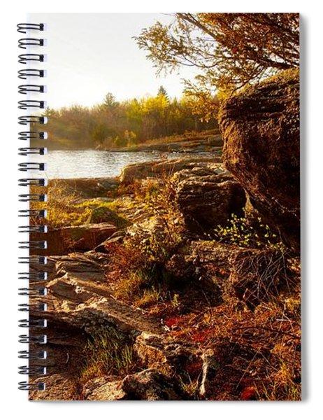 Georgian Bay Sunset Spiral Notebook