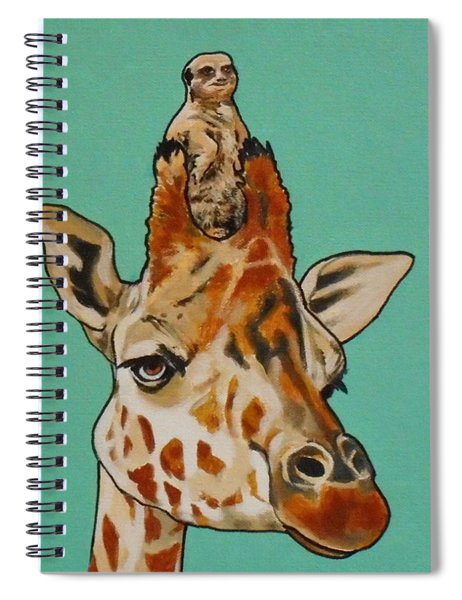 Gerald The Giraffe Spiral Notebook