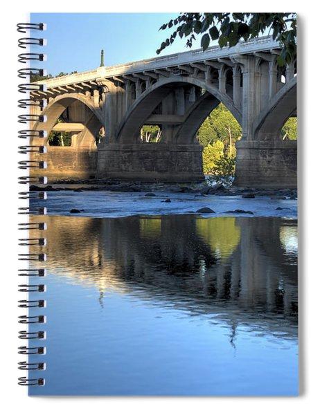 Gervais Street Bridge-1 Spiral Notebook