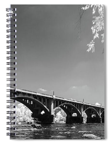 Gervais Street Bridge In Ir1 Spiral Notebook