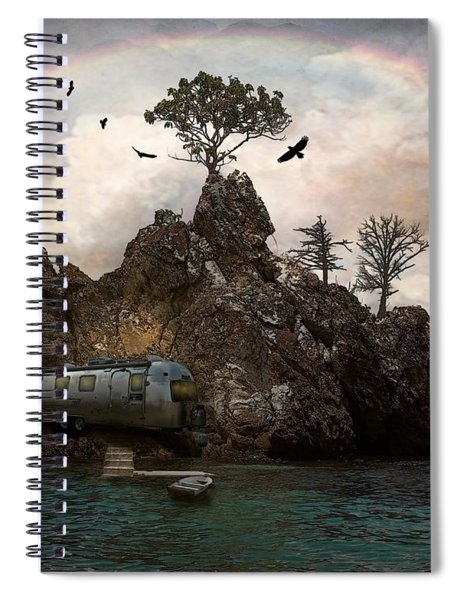 Get Away From It All Spiral Notebook