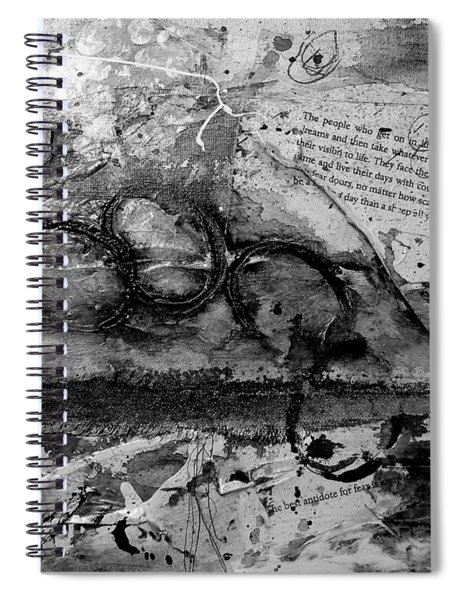Get Into The Game Spiral Notebook