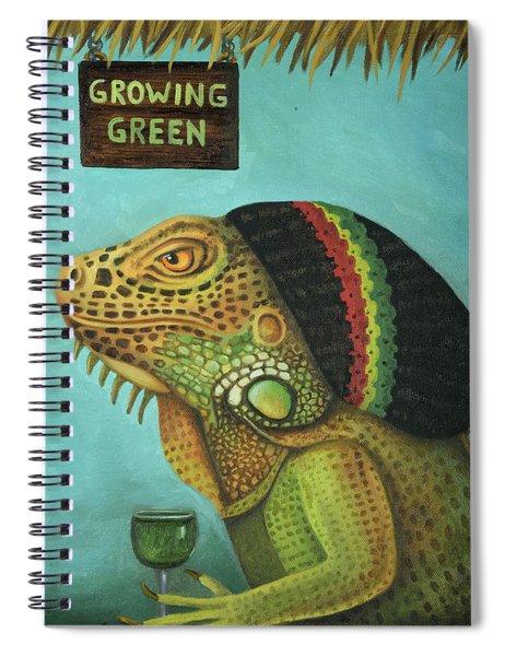 Get Medicated Detail Spiral Notebook