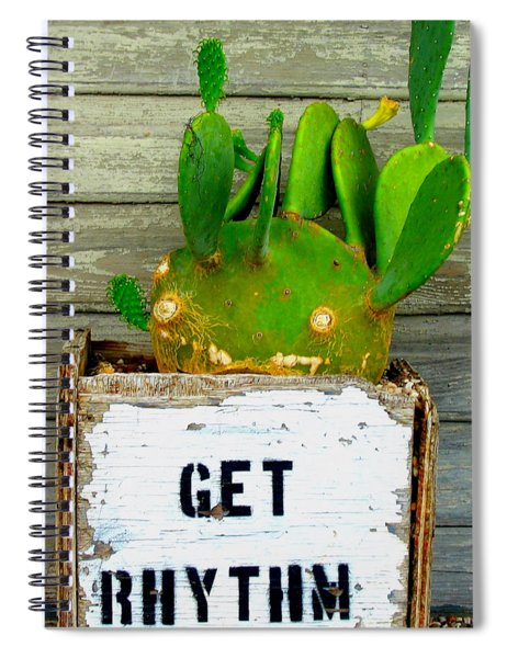Get Rhythm Spiral Notebook
