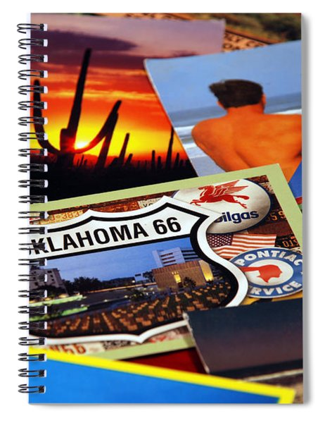 Get Your Kicks... Spiral Notebook