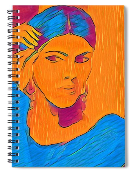 Getting Ready Electric Spiral Notebook
