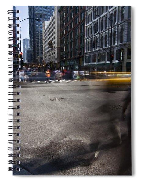 Getting Somewhere Spiral Notebook