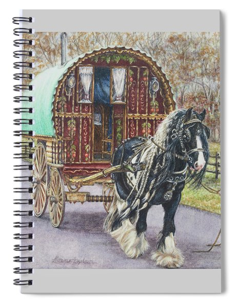 G G L Divo's Pride And Glory Spiral Notebook