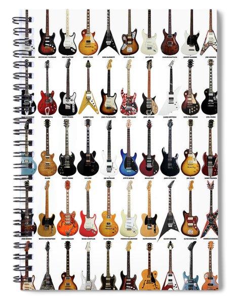 Guitar Legends Spiral Notebook