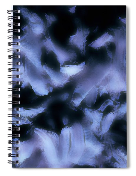 Ghost Fingers Spiral Notebook
