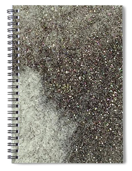 Ghost Leaf Spiral Notebook