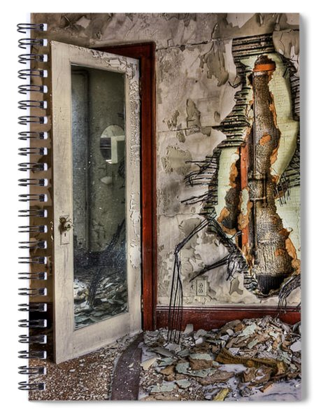 Ghost Of Time Spiral Notebook