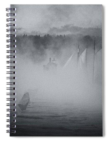 Ghost Ship 1 Spiral Notebook