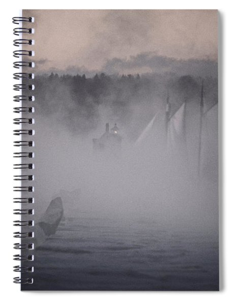 Ghost Ship 2 Spiral Notebook