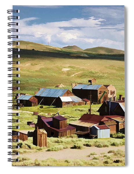 Ghost Town Spiral Notebook