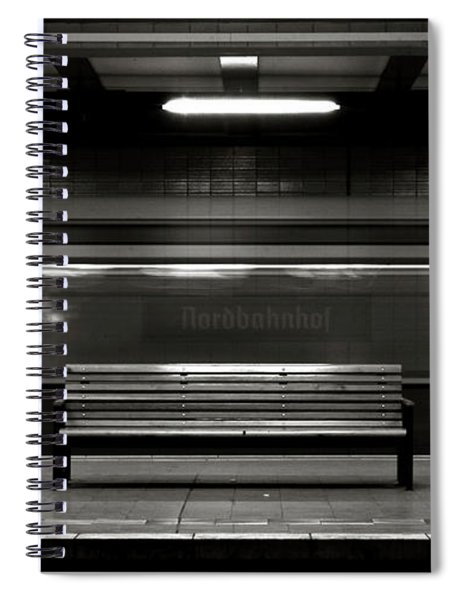 East Berlin Ghost Train Spiral Notebook