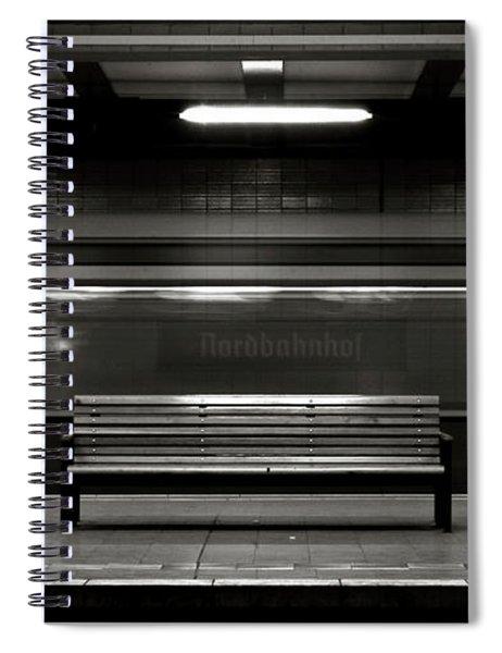 East Berlin Ghost Train Spiral Notebook
