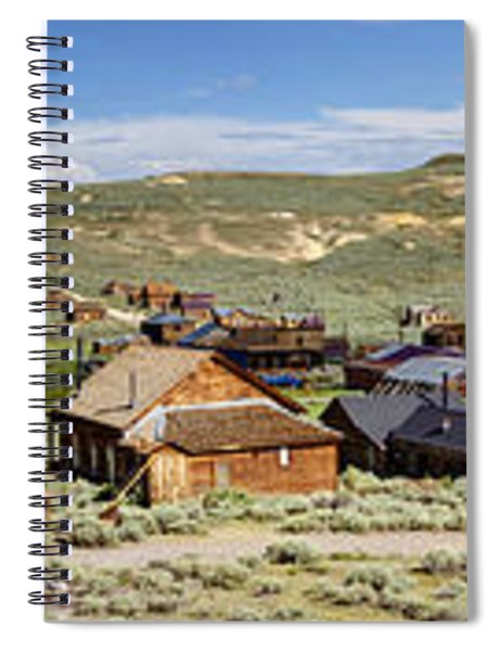 Ghostly Panorama Spiral Notebook