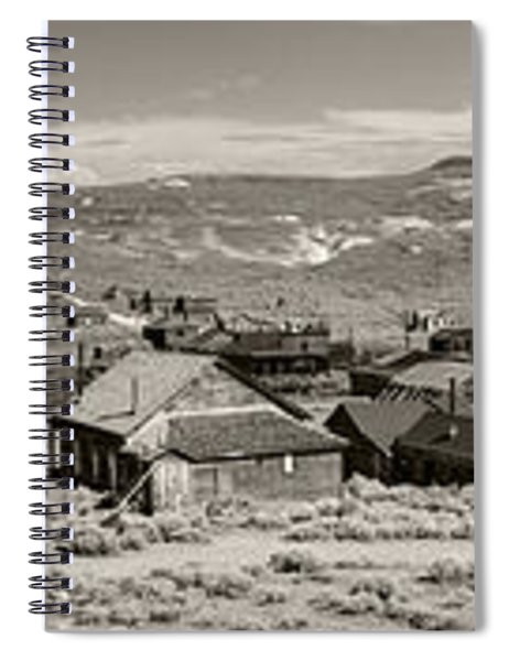 Ghostly Panorama Tobacco Spiral Notebook