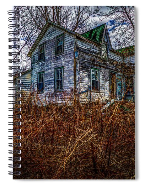 Ghosts Of The Past Spiral Notebook
