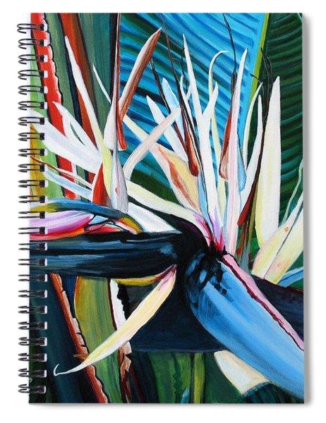 Giant Bird Of Paradise Spiral Notebook