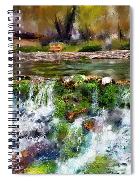 Giant Springs 1 Spiral Notebook