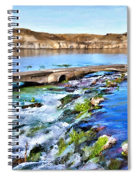 Giant Springs 3 Spiral Notebook