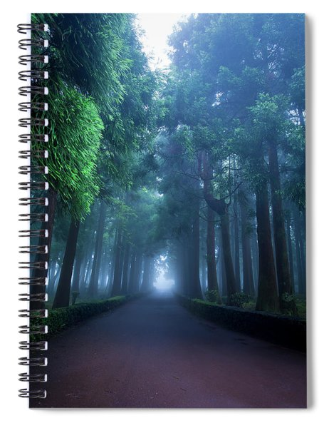 Giants In The Fog Spiral Notebook