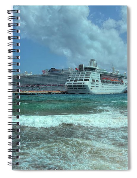 Giants Of The Sea Spiral Notebook