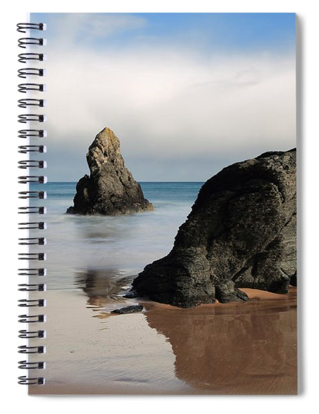 Giants On Sango Bay Spiral Notebook