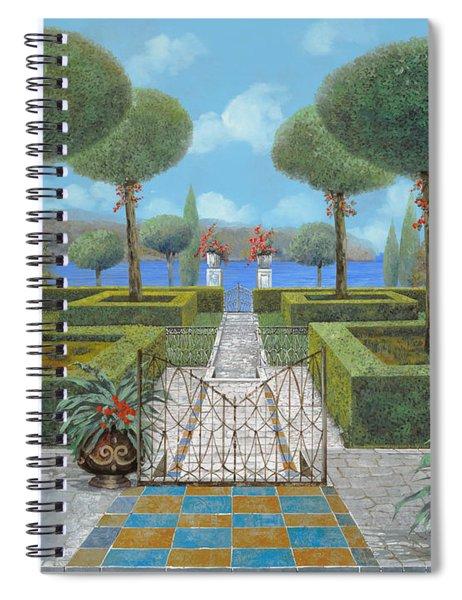Giardino Italiano Spiral Notebook