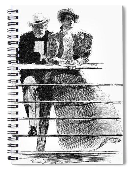 Gibson Couple, 1897 Spiral Notebook