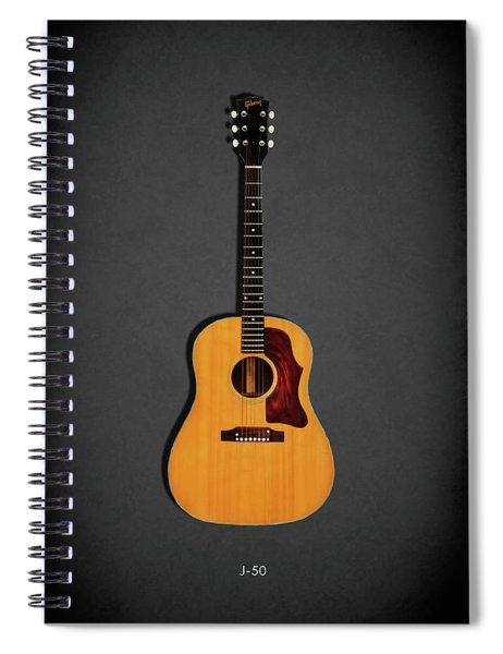 Gibson J-50 1967 Spiral Notebook