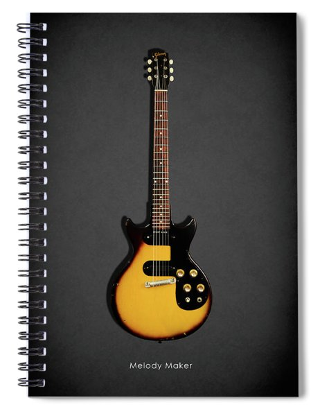 Gibson Melody Maker 1962 Spiral Notebook