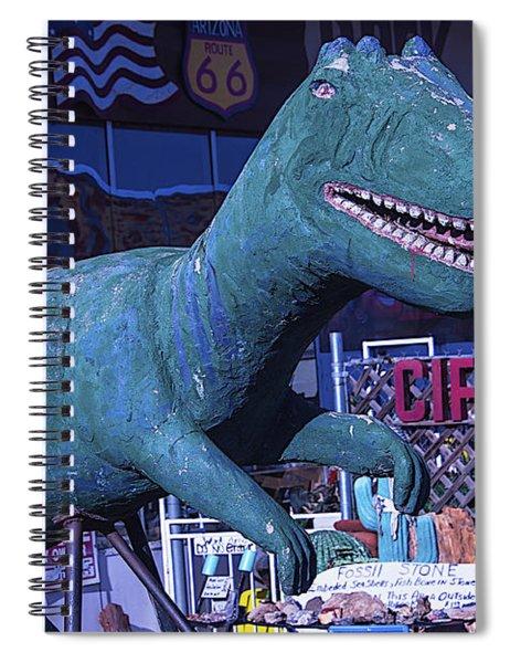 Gift Shop Dinosaur Route 66 Spiral Notebook