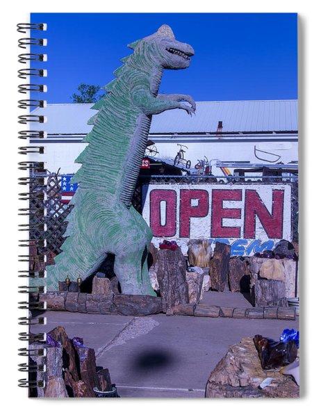 Gift Store Dinosaur  Spiral Notebook