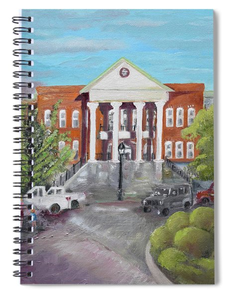 Gilmer County Courthouse - Ellijay, Ga Spiral Notebook