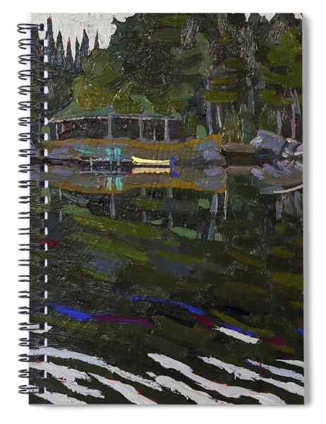 Gilmour Island Spiral Notebook