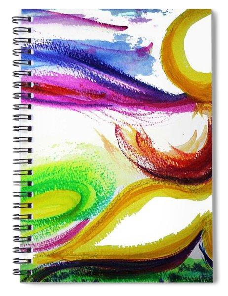 Gimel - Breathe Spiral Notebook