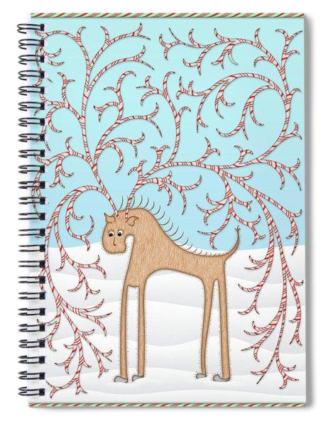 Ginger Cane Spiral Notebook