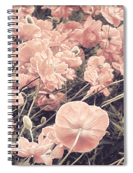 Ginger Poppies II Spiral Notebook