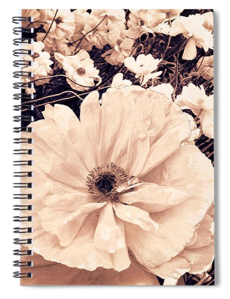 Ginger Poppies Spiral Notebook