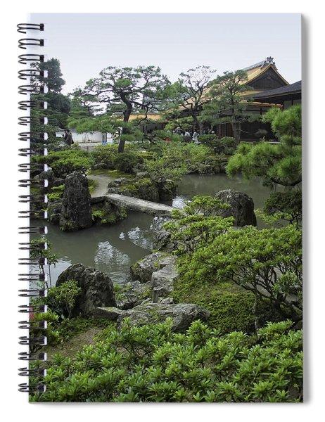 Ginkaku-ji Zen Temple - Kyoto Japan Spiral Notebook
