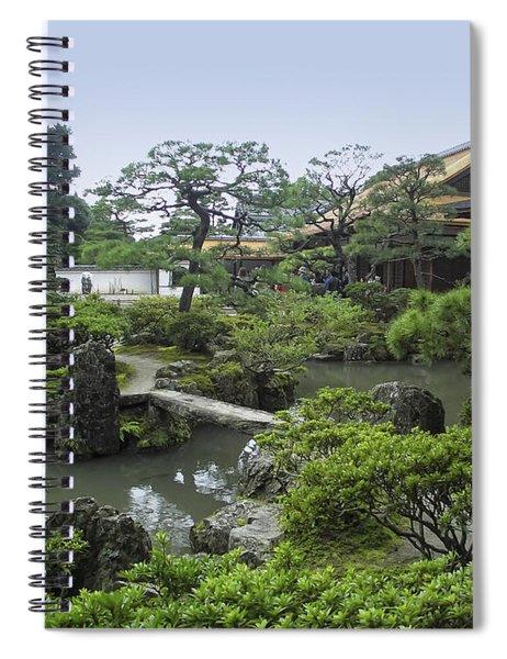 Ginkaku-ji Zen Temple No. 1 - Kyoto Japan Spiral Notebook