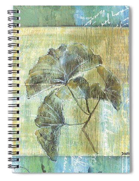 Ginkgo Spa 1 Spiral Notebook