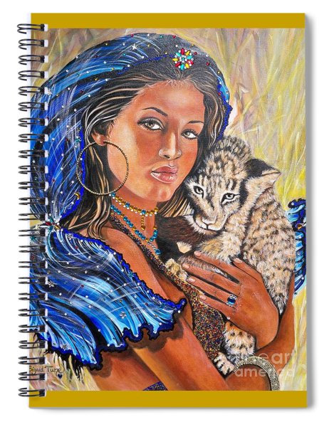Independent Indian Girl.              From The Attitude Girls  Spiral Notebook