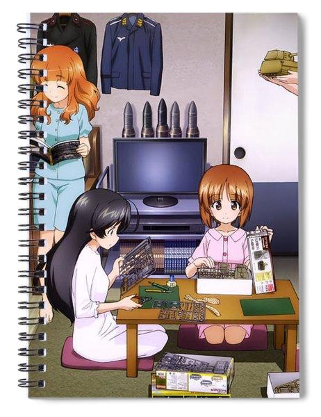 Girls Und Panzer Spiral Notebook