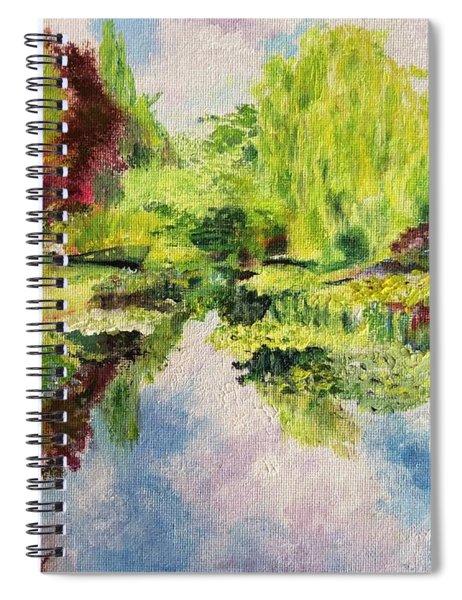 Giverney Spiral Notebook